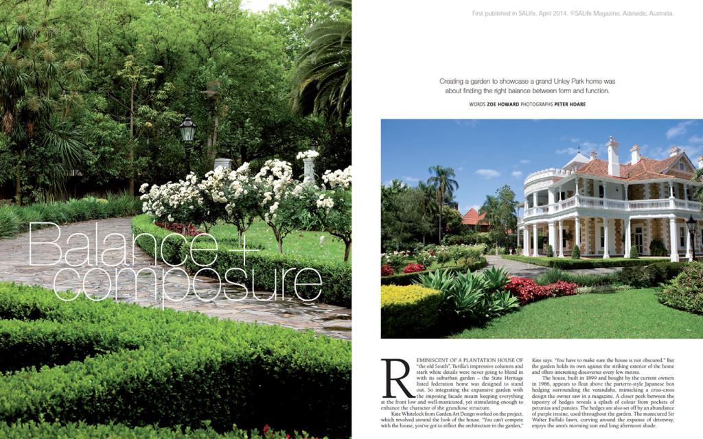 GAD Featured In SALife MagazineGarden Art Design
