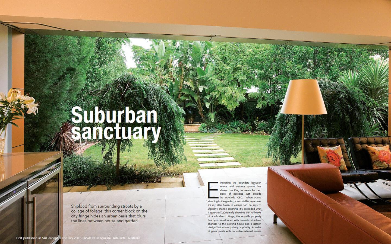 SAGardens Suburban Sanctuary ArticleGarden Art Design